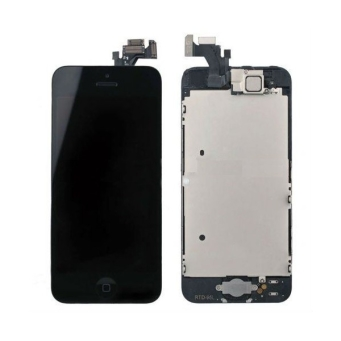 IPHONE 5 FULL SET DIGITIZER+LCD CZARNY / BLACK REFABRYKOWANY