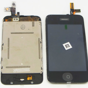 IPHONE 3GS DIGITIZER+LCD BLACK +HOME