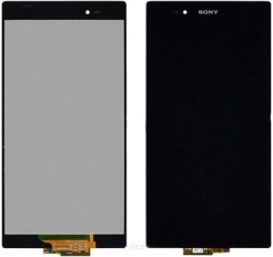 SONY XPERIA Z ULTRA XL39H FULL SET  DIGITIZER+LCD CZARNY / BLACK