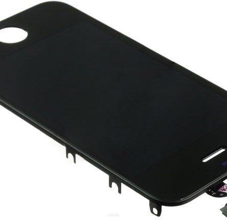 IPHONE 4/4G FULL SET Z DEFEKTEM PRZECENA CZARNY / BLACK