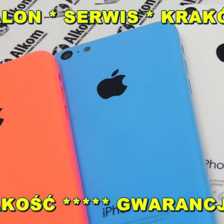 IPHONE 5C KORPUS TYŁ PINK
