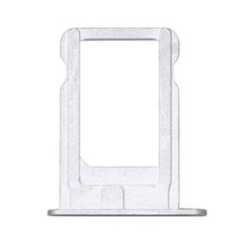 IPHONE 5/5S SZUFLADKA KARTY SIM WH/SIL